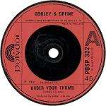 Godley & Creme - Under Your Thumb - Polydor - Pop