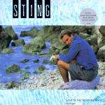 Sting - Love Is The Seventh Wave Single