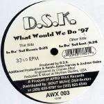 DSK - What Would We Do '97 - Afro Wax Records - UK Garage