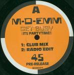 M-D-Emm - Get Busy (It's Partytime!) - Republic Records  - Acid House
