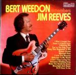Bert Weedon - Bert Weedon Remembers Jim Reeves - Contour - Easy Listening