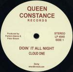 Cloud One - Doin' It All Night - Queen Constance Records - Disco