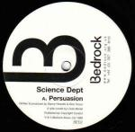 Science Department - Persuasion / Repercussion - Bedrock Records - UK House
