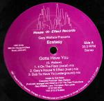 Gary Wallace & Ecstacy - Gotta Have You - House -N- Effect Records - US House