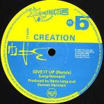 Creation - Give It Up - Deconstruction - UK House