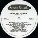 Various - Best Of House Volume 1 - Serious Records  - House