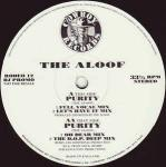 THE ALOOF - Purity - Maxi 45T