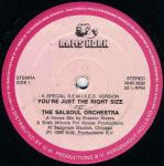 The Salsoul Orchestra - You're Just The Right Size (A Special R.E.M.I.X.E.D. Version) / Run Away - Rams Horn Records - Disco