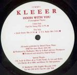 KLEEER - Oooh With You - 12 inch 45 rpm