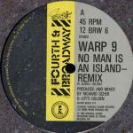 Warp 9 - No Man Is An Island - 4th & Broadway - Synth Pop