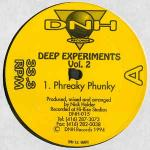 Nick Holder - Deep Experiments Vol. 2 - DNH Records (2) - Deep House