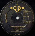 Heatwave - Always And Forever - GTO - Soul & Funk