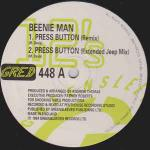 Beenie Man - Press Button - Greensleeves Records - Ragga