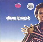 ALISON LIMERICK - Come Back (For Real Love) (The Remix) - Maxi 45T