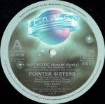 Pointer Sisters - Automatic - Planet  - Disco