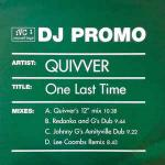 QUIVVER - One Last Time - 12 inch 45 rpm x 2