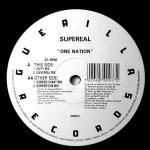 SUPEREAL - One Nation - 12 inch 45 rpm