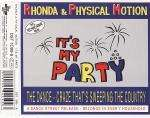 RHONDA & PHYSICAL MOTION - It's My Party - 12 inch 45 rpm